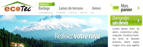Разработка интернет-магазина EcoTec