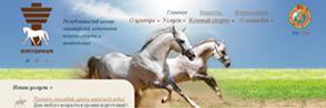 Разработка сайта для Центра олимпийской подготовки конного спорта и коневодства «Ратомка»